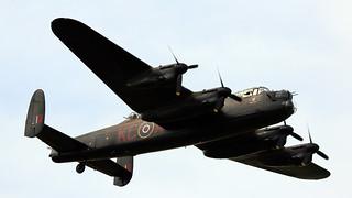 RAF BBMF Avro Lancaster Bomber 'Thumper'