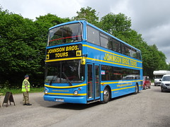 Johnson Bros T651KPU Rowsley (Guy Arab UF) Tags: johnson bros t651kpu dennis trident alexander alx400 peak park preserved bus gathering rowsley south station rail derbyshire buses east london ta51 stagecoach west 17051