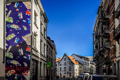 The named one (Melissa Maples) Tags: brussel bruxelles brussels belgique belgië belgium europe apple iphone iphone6 cameraphone winter graffiti streetart art building mural inmyareaforkato luciemckenzie