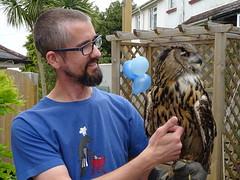 DSC07708 (guyfogwill) Tags: 2018 adamfogwill birds brandonsbirthday devon eurasianeagleowl gbr guyfogwill may owls paignton unitedkingdom paigntontorquay