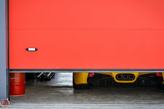 Ferrari 458 italia (GPE-AUTO) Tags: sport collection sportetcollection 500ferraricontrelecancer levigeant vigeant valdevienne track circuit france nikon d7100 nikond7100 voiture charity event charityevent ferrari 458 italia ferrari458 ferrari458italia box garage door exhaust echappement rear