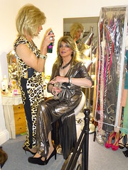 Dressing up (Julie Bracken) Tags: satin kelayla transvista cd tgurl feminized xdresser mature old tv portrait hair red fashion transvestite mini skirt transgender m2f mtf transsisters enfemme ginger redhead party tranny trannie heels nylon julieb85 crossdressing crossdresser tgirl feminised 2018 kinky pantyhose crossdress polyamorous lgbt kelayla03
