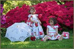 Anne-Moni und Milina ... den Tag genießen ... (Kindergartenkinder 2018) Tags: grugapark essen azaleen kindergartenkinder tivi kindra annemoni milina annette himstedt gruga
