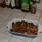 The left overs of the pork shoulder thumbnail