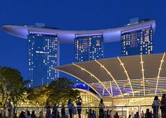singapore night (poludziber1) Tags: street streetphotography skyline summer sky singapore city colorful cityscape color colorfull capital blue building travel urban tower