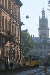 Lviv (Pl. Rinok) (Jean (tarkastad)) Tags: tram tramway tarkastad трамвай україна украина streetcar ukraine lightrail lrt strasenbahn