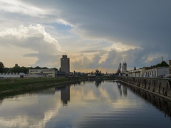 Cumulonimbus (tankredschmitt) Tags: gewitter hafen ludwigshafen meteorologie natur rhein wetter wolken