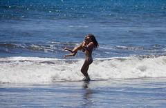 Hawaii mama (stephencharlesjames) Tags: hawaii maui beach mother girl child sea ocean waves