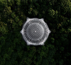Archittecture from above. (衰尾道人 www.ethanleephoto.com) Tags: architecture architectural dji drone aerial above taiwan building snap