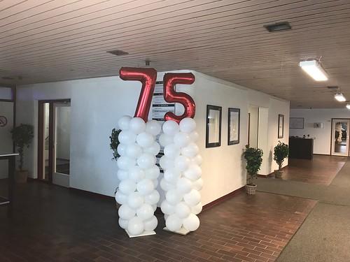 Ballonpilaar Breed 75 Jaar Stormpolder Krimpen aan den IJssel