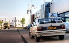 Citroën BX 19 GTi (Skylark92) Tags: nederland netherlands holland zuidholland southholland schoonhoven citroen bx 19 gti k6 1987 rk55nv blanc meije morettes 8v