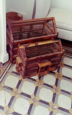 Vintage birdcages (zoe_r_s) Tags: zoersphotography zoers samsungphotography samsungs7 greece spetses cages birdcage hotel poseidoniongrandhotel vintage