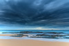 Under a Cloudy Sky - Seascape (Merrillie) Tags: daybreak wamberalbeach sand sunrise sea centralcoast nature water morning surf overcast wamberal weather newsouthwales waves earlymorning nsw australia beach ocean landscape waterscape sky coastal clouds outdoors seascape dawn coast cloudy seaside