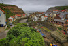 Staithes, North Yorkshire (Kev Walker ¦ 8 Million Views..Thank You) Tags: architecture boats britishculture building canon1855mm canon700d cliffs coastline digitalart fishingport hdr harbour historic northyorkshire outdoor panorama panoramic picturesque postprocessing sea seaside seasidevillage sky staithes tranquil unspoilt water waterfront waterside