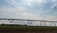 Farmland Irrigation - Watering System at Minnesota Farm (Tony Webster) Tags: dakotacounty minnesota agriculture clouds farm farming farmland irrigation irrigationsystem sky spring water watering rosemount unitedstates us