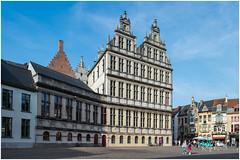 Vignette Of Ghent (RudyMareelPhotography) Tags: belgium emillebraunplein flanders gent ghent city cityhall medieval flickrclickx flickr ngc
