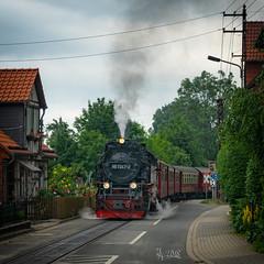 2018 Steam Tram (jeho75) Tags: sony ilce 7m2 zeiss deutschlandgermany harz wernigerode harzquerbahn steam train dampflok brockenbahn
