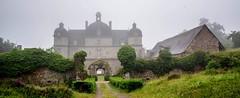 Château de la Moussaye (yvon.kerdavid) Tags: château fortifications brume plénéejugon côtesdarmor mené bretagne