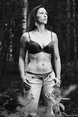 In the forest (Wim Vandenbussche) Tags: nathasja forest bos model ad600pro godox