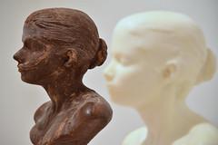 """Lick and Lather,"" Janine Antoni (Ian E. Abbott) Tags: janineantoni lickandlather selvesandothers sanfrancisco sanfranciscomuseumofmodernart sfmoma artmuseum sculpture bust chocolate soap"