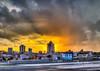 Sunday's Sauna Sunset Shower - Roanoke (Terry Aldhizer) Tags: sunday sunset sauna shower hot weather rain clouds roanoke city downtown buildings june rays terry aldhizer wwwterryaldhizercom