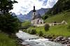 Ramsau St.Sebastian (didibild) Tags: ramsau stsebastian ramsauer ache bayern deutschland landschaft fluss berge kirche