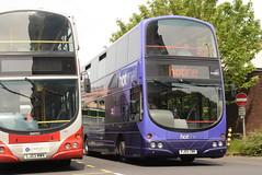 TBP 2762 @ Preston bus station (ianjpoole) Tags: the blackburn bus company volvo b7tl wright eclipse gemini pj05zwk 2762 working hotline route 152 preston station burnley transdev pendle