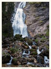 Wasserfall an der Kenzenhütte (JKP14) Tags: wasserfall felsen wasser landschaft