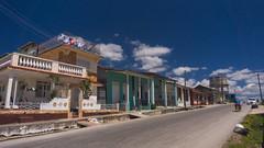 Camajuani - 2 - La Loma (The Hill) - Leoncio Vidal street (lezumbalaberenjena) Tags: camajuani camajuaní villas villa clara cuba cuban ciudad city 2018 lezumbalaberenjena loma bario