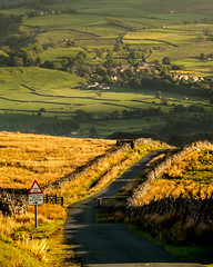 The Road to Askrigg (Black Dog Photography Melbourne) Tags: yorkshiredales wensleydale road yorkshire walls dales fields countryside stonewalls village moors cattlegrid askrigg