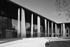 PMC, Strasbourg #8 (shift.A) Tags: palais musique congres strasbourg alsace grandest france architecture moderne black white modern metal reflection ziegler sauer rey lucquet dietrich untertrifaller