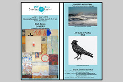 Invitation for June 1, 7 - 9 pm (AGrinberg) Tags: pacifica sanchez art center opening fogfest invitational judge photography show