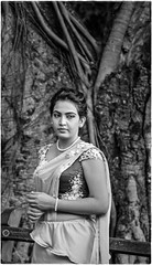 """Someday, I'm gonna make my dreams come true..."" (Ramalakshmi Rajan) Tags: portrait portraits potraits blackandwhite blackwhite bw nikon nikkor18140mm nikond5000 srilanka woman"