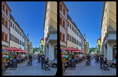 Dohnaische Straße, Pirna 3-D / CrossEye / Stereoscopy / HDRaw (Stereotron) Tags: saxony sachsen pirna streetphotography urban citylife europe germany deutschland crosseye crossview xview pair freeview sidebyside sbs kreuzblick 3d 3dphoto 3dstereo 3rddimension spatial stereo stereo3d stereophoto stereophotography stereoscopic stereoscopy stereotron threedimensional stereoview stereophotomaker stereophotograph 3dpicture 3dimage twin canon eos 550d yongnuo radio transmitter remote control synchron kitlens 1855mm tonemapping hdr hdri raw availablelight