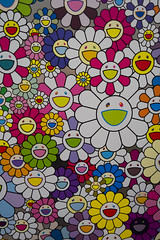 Sunny flowers (quinet) Tags: 2018 canada takashimurakami vancouver vancouverartgallery whistler britishcolumbia 124