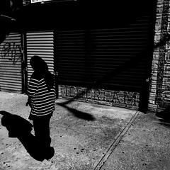 Cortelyou Road (AMRosario) Tags: streets wall brooklyn flatbush light blackandwhite iphone texture street streetphoto streetphotography ditmaspark hornbeck kensington morning newyorkcity bw contrast shadows