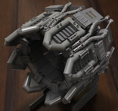 WIP: Ugly Duckling main engine (Blake Foster) Tags: lego afol moc space spaceship engine thruster greeble ugly duckling