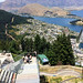 Queenstown & lake from above