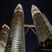Petronas Towers at night. Kuala Lumpur, Malaysia