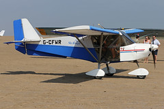 G-CFWR (QSY on-route) Tags: gcfwr lancashire landing 2018 fly in knott end beach airfield 09062018