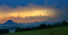 Gewitter (michaelschneider17) Tags: gewitter wetter wolken sachsen elbsandsteingebirge sommerwetter unheilvoll