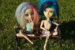 Décora Duo (Jadiina) Tags: pullip pullipddalgi pullipddalgicusto pullipddalgicustom taeyang taeyangdoll taeyangkaito taeyangkaitostock doll