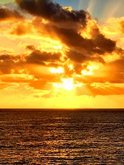 Atlantic Ocean Sunset (dimaruss34) Tags: newyork brooklyn dmitriyfomenko image sky clouds sunset portugal madeira svetlanafomenko sunrays