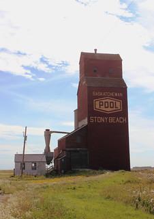 Stony Beach, SK Grain Elevator