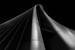 ... curvedinfinity ... (*ines_maria) Tags: architecture area background blue building business city cityscape complex construction design details district exterior finance financial futuristic high italy life milan milano modern new office outdoor sky skyline skyscraper tall technology tower urban view windows panasonicdcgh5 gh5 blackandwhite bw monochrome mailand zahahadid famous travel landmark
