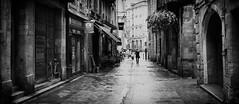 Bordeaux, rainy day (9) (Salva Pagès) Tags: blancoynegro blancinegre blackandwhite blancetnoir monochrome monocromo bordeaux aquitaine francia france frança pluja lluvia rain carrer calle street streetphotography gris grey