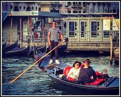 All Aboard The Gondola #grandcanal #venice #gondola #gondolier #canal #men #boat (FotoFling Scotland) Tags: grandcanal venice men boat male gondolier gondola italy