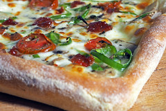 Square pizza (Engin Süzen) Tags: foodporn foodphotography foodphoto food foodphotograph foodphotographer foodstyling foodstylist pizza olympus olympusem1markii olympusomdem1markii hungry breakfast dinner m43 m43turkiye