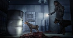 Something bad happened ... (brian.werefox) Tags: arcade gb bauhaus movement horror movie zombies findyours gacha dogs second life avatar artwork rkkn