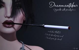 +Dreamcatcher+ Cigarette with mouthpiece @ Vintage Fair
